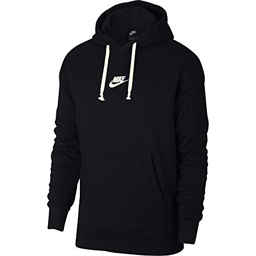ull Over Hoodie Black/Sail 928437-011 Size X-Large ()