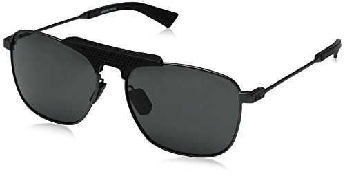 Under Armour UA Rally Aviator Sunglasses, UA Rally Satin Gunmetal / Black / Gray, 56 - To That Sunglasses Sunlight Adjust