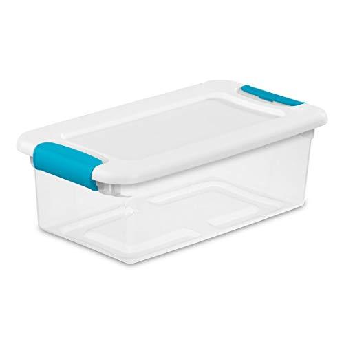 Sterilite 6-Quart and Blue Box Container