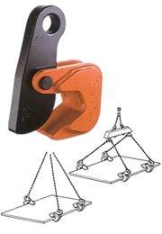 イーグルクランプ HOS型 鋼板水平つり用クランプ HOS-2.5 (12520600) B01KIZK0QA