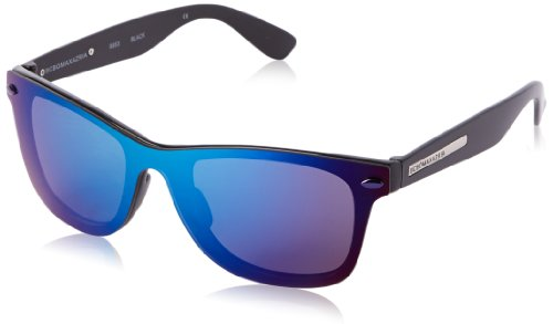 BCBG Women's B853 Wayfarer Sunglasses,Black,53 - Bcbgmaxazria Sunglasses