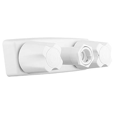 Dura Faucet DF-SA180-WT Exterior Quick Connect Faucet (White): Automotive