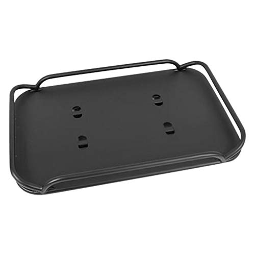 RAMPAGE PRODUCTS 86623 Rear Fold-Up Storage Rack, Interior Mount, Fold Up, for 2007-2018 Jeep Wrangler JK 4-Door Unlimited, Black Powder Coat Finish