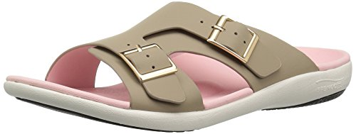 Slide Light Taupe Brighton Women''s Spenco Sandal R8qYHawwS
