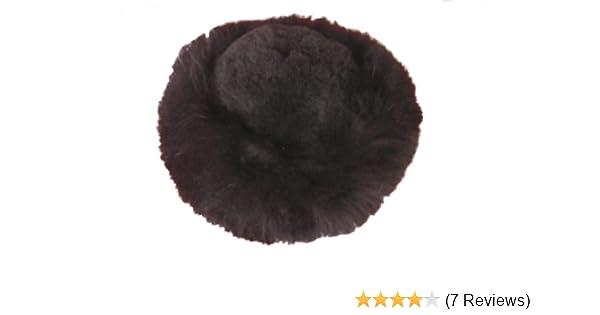 3790be6db4ba2 Alpakaandmore Womens Black Baby Alpaca Fur Mongolian Hat Satin Lined  Russian Hat