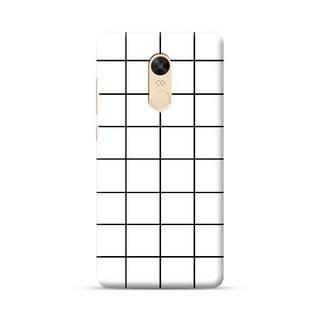 wholesale dealer fe208 4d9f5 CaseFactory White Lattice Phone Case for Redmi Note 4: Amazon.in ...