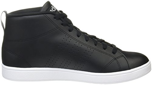 grey Adidas Cl core Black Uomo Three Advantage Mid A Alto Collo Sneaker Nero PPn6qzw5xr