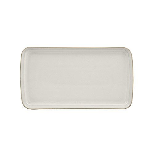 - Denby USA Natural Canvas Small Rectangular Platter