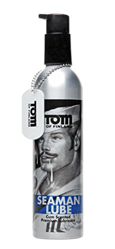 Tom of Finland Seaman Lube, 8 Fluid Ounce