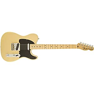 Fender 0115802307 American Special Telecaster Maple Fingerboard Electric Guitar – Vintage Blonde