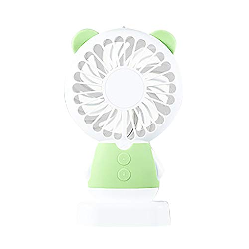 Portable Handheld Cooling Fan Colorful LED Handheld USB Rechargeable Electric Outdoor Household Operated Table Personal