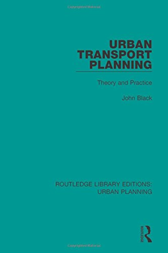 Urban Transport Planning: Theory And Practice (Routledge