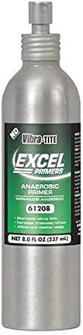 Vibra-Tite Primer, 8oz Can, Acetone/Isopropanol-Based, (Pack of 5)