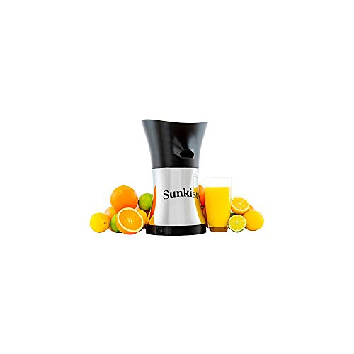 Sunkist Growers Pro Series Juicer | Citrus Press | Electric Juice Extractor & Machine | Chrome Plated | 10 Gallon Per Hour Ability | 11 ¾