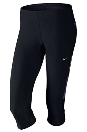 Nike Women's Tech Capri - XSmall (black)