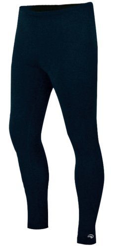 Duofold Men's Expedition Weight Two-Layer Thermal Tagless Bottom, Black, X-Large by Duofold