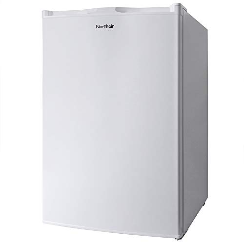 Northair Upright Freezer with 3.0 Cubic Feet Capacity, Compact Reversible Single Door Vertical Freezers for Home/Hotel/Apartment/Office, Removable Shelf, Adjustable Thermostat