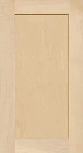 Unfinished Maple Shaker Cabinet Door by Kendor, 24H x 13W