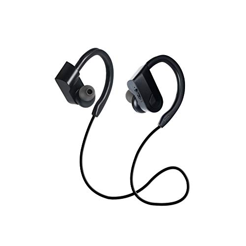 mxdmai Wireless Headphones Bluetooth Headphones Sports Earbuds Stereo Earphones for Running Play Time Noise Cancelling Headsets with Cable: Amazon.co.uk: Electronics