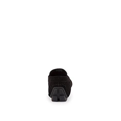 Hombre Negro Armani Shoe Driving Zapatos Emporio qw1U4tn