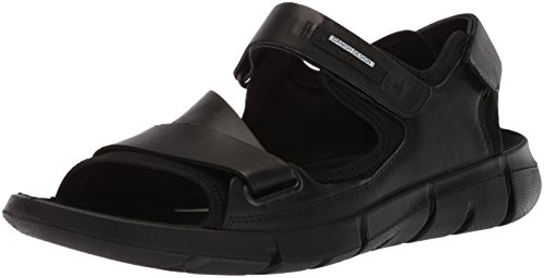 ECCO Men's Intrinsic 2 Sport Sandal, Black, 47 M EU (13-13.5 US) from ECCO