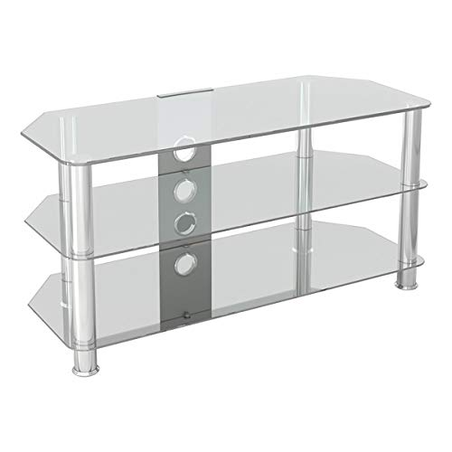 AVF SDC1000CMCC-A Classic - Corner Glass TV Stand (up to 50
