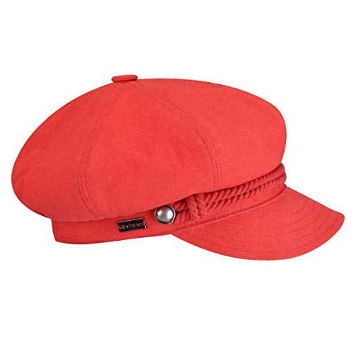 Betmar Women's Fisherman Cap Poppy One Size