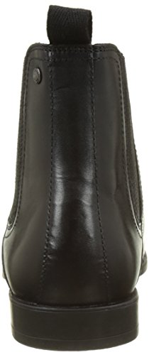 Base London Guinea, Stivali Chelsea Uomo Noir (Black Waxy)