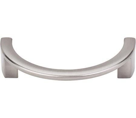 Top Knobs TK53BSN  Half Circle Open Pull (Center Half Circle)