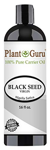 Black Seed Oil 16 oz Virgin, Unrefined Cold Pressed Cumin 100% Pure Natural - Skin, Body and Hair. Great For Eczema