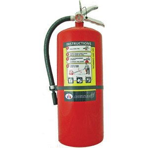 Badger 21007868 Advantage 20 lb ABC Fire Extinguisher w/ Wall Hook by Badger