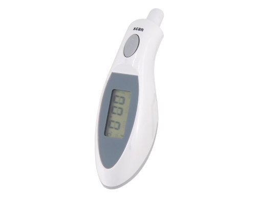 Digital Temperature for Kids, Babies, Infants, Older Children and Adults - Infrared Laser Reads Temperature in Just One Second - Ten Reading (Adult Laser)