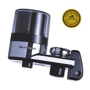 InstaPure F2BCT3P-1ES Faucet Mount Water Filter System, Chrome by Instapure