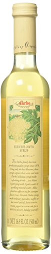 D'arbo Syrup Single Bottle Elderflower 500ml (16.9oz) Bottles From Austria