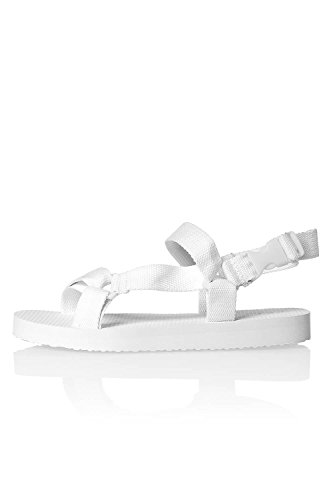 ONLY - Sandalias de vestir de Poliéster para mujer Multicolor multicolor Blanco Brillante