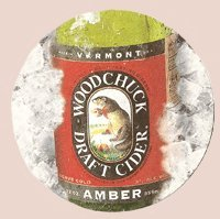 Woodchuck Cider (Vermont Hard Cider Company Woodchuck Draft Cider Paperboard Coasters - Set of 4)