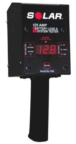 SOLAR 1860 125 Amp Digital Fixed Load Battery Tester