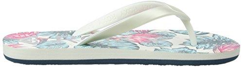 Roxy Tahiti Sandals SNDL Silver G Lagoon Rg Vi ffw5qr1