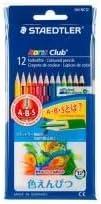 (業務用100セット) ステッドラー ノリスクラブ色鉛筆12色 144 NC12P ds-1735119