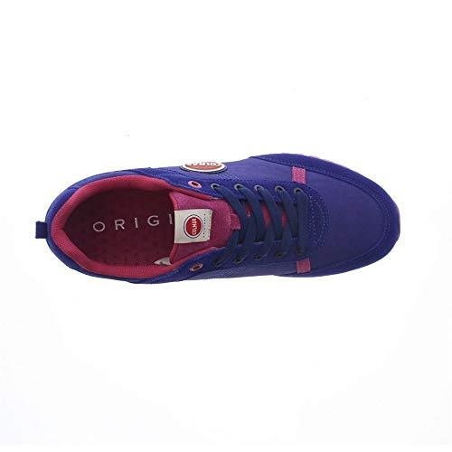 INDIGO 37 Sneaker blu TRAVIS COLOR 040 Taglia COLMAR wnxzFOAZqW
