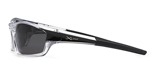 a2d8a9a2273 Polarized Wrap Around Fishing Driving Cycling Golf Sunglasses - Clear    Black
