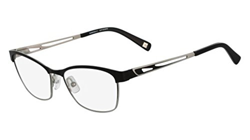 Eyeglasses MARCHON M-MORNINGSIDE 001 BLACK - Eyeglasses Black 001