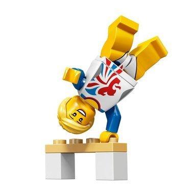 Amazon.com: LEGO Minifiguras: Olímpico Gimnasta Olímpico ...