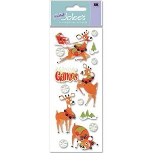 Jolees Boutique Golf (A Touch Of Jolee's Holiday Stickers, Reindeer Games)