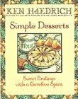 Simple Desserts, Ken Haedrich, 0553374532