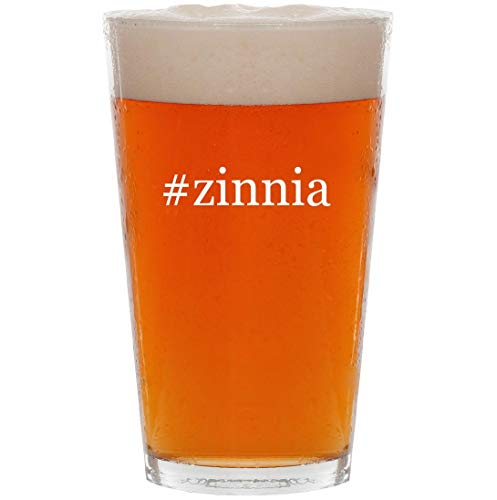 #zinnia - 16oz Hashtag Pint Beer Glass