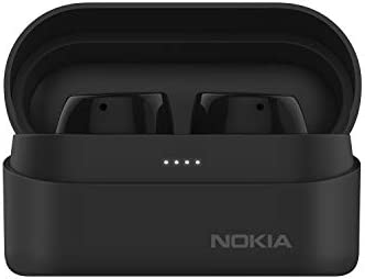Nokia Power Earbuds Lite with up to 35 Hours of Play time, Waterproofing, Bluetooth 5.0, Crystal-Clear Sound, Nordic Design and eco-Packaging   Charcoal Colour