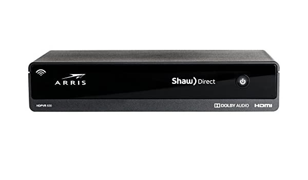 Shaw Direct Arris DSR830 Dual Tuner Advanced HD PVR: Amazon