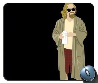 The Big Lebowski V7 Mouse Pad