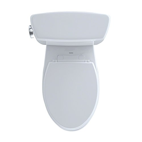 Drake 2-piece 1.6 GPF Elongated Toilet in Cotton by TOTO (Image #7)